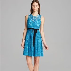 Tracy Reese Alana Dress in Aqua/Strong Blue